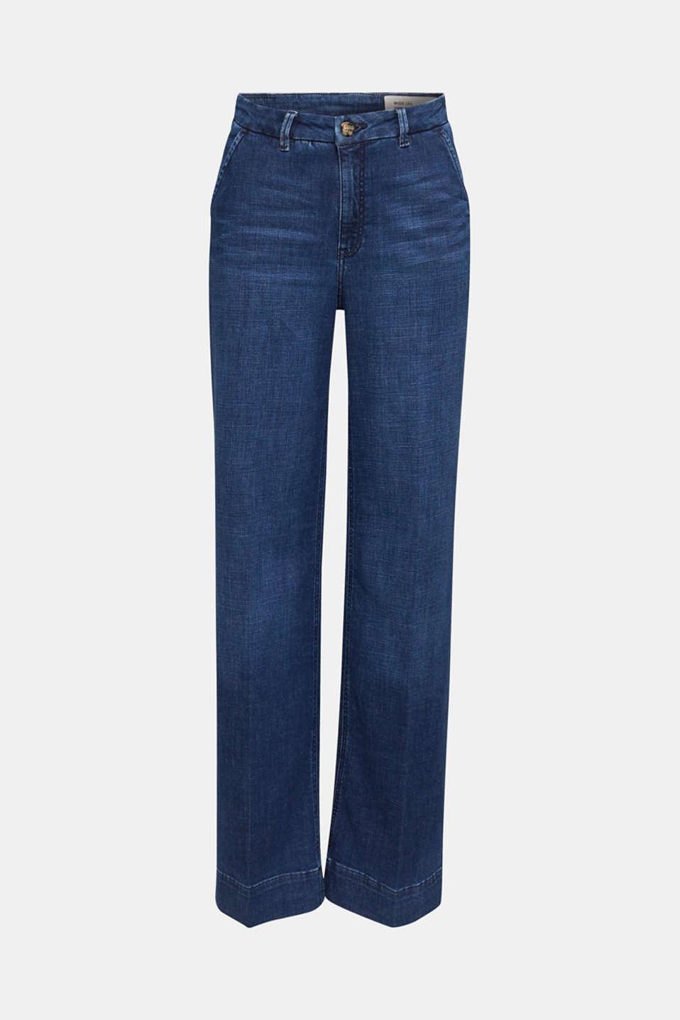 Jeans, BLUE DARK WASH, detail image number 6