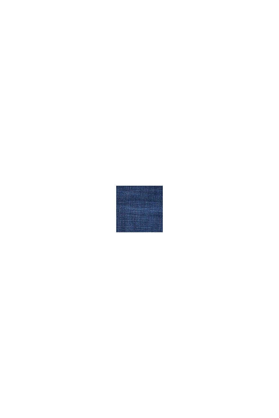 Vaqueros de moda en tejido vaquero suave, BLUE DARK WASHED, swatch
