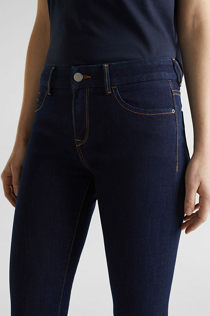 Cleane Jeans mit Organic Cotton, BLUE RINSE, detail image number 2