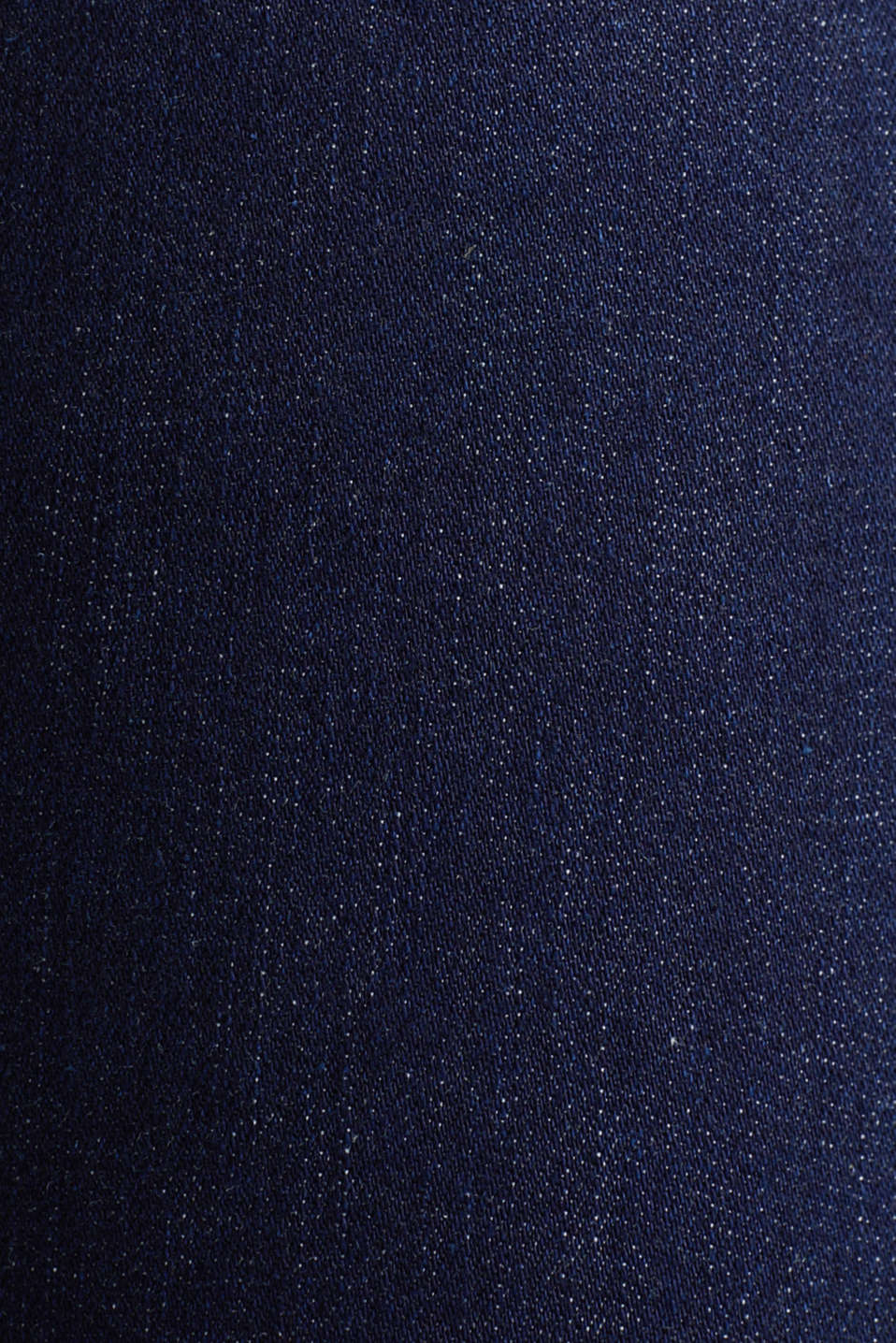 Clean jeans with organic cotton, BLUE RINSE, detail image number 4