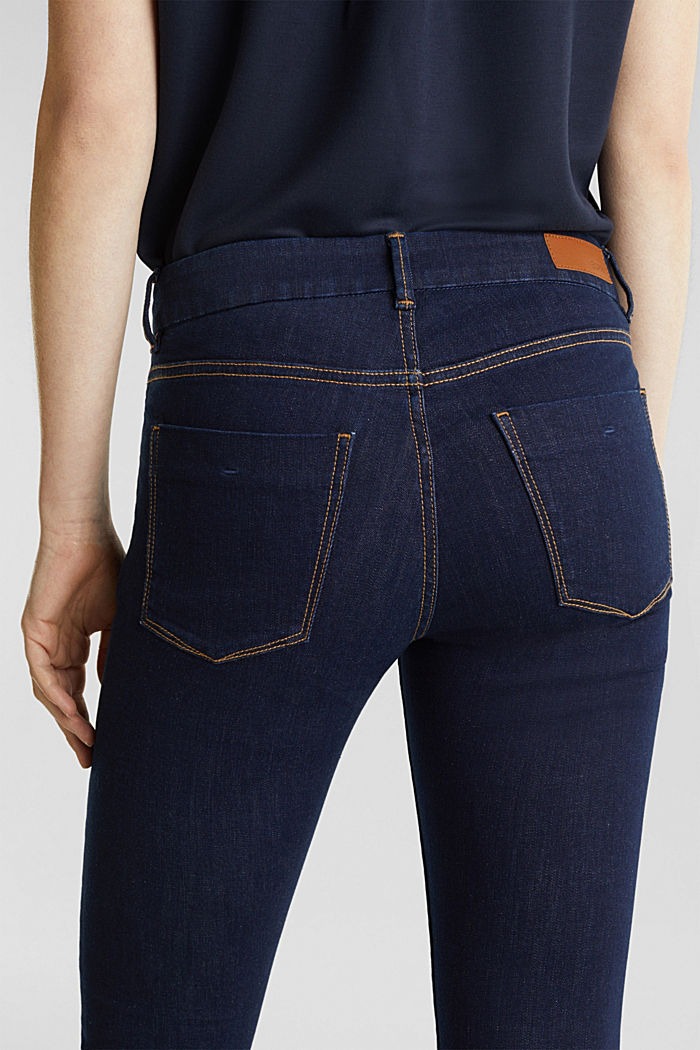 Cleane Jeans mit Organic Cotton, BLUE RINSE, detail image number 6