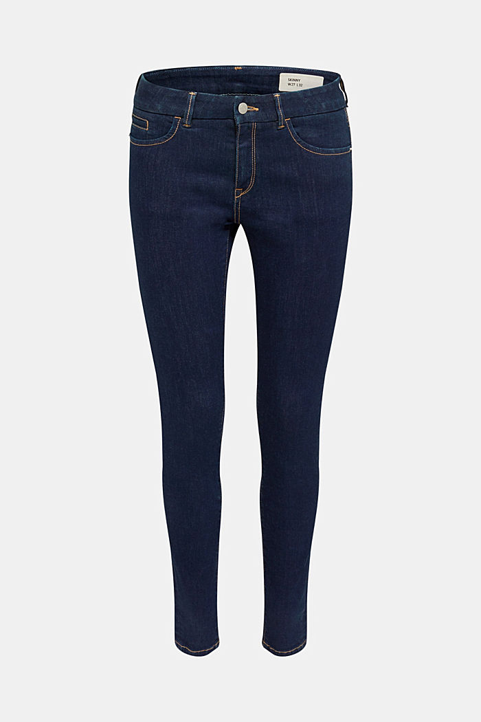 Cleane Jeans mit Organic Cotton, BLUE RINSE, detail image number 8