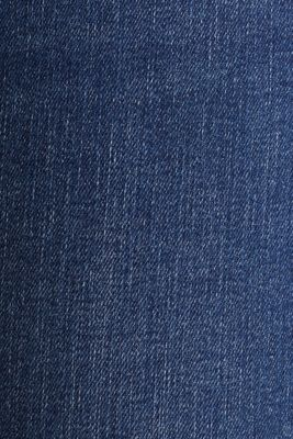 Clean jeans with organic cotton, BLUE MEDIUM WASH, detail