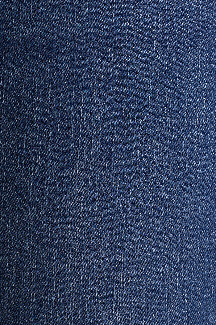 Clean jeans with organic cotton, BLUE MEDIUM WASHED, detail image number 4