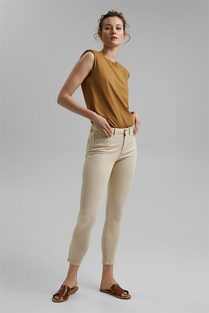 Ankle-length trousers with hem zips, ICE, detail image number 1