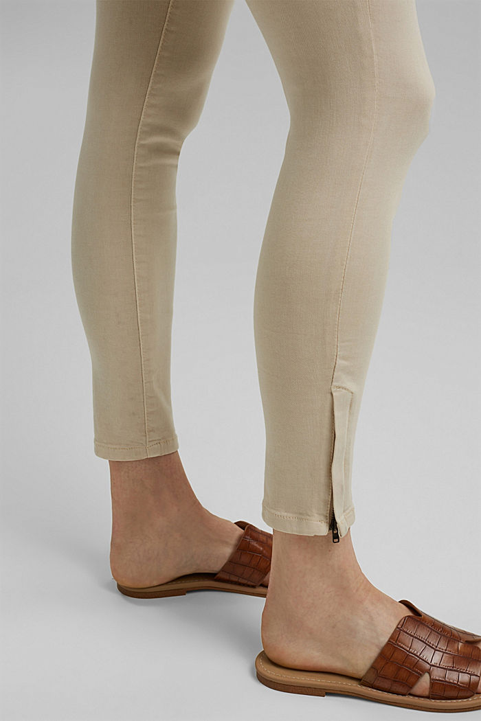 Ankle-length trousers with hem zips, ICE, detail image number 5