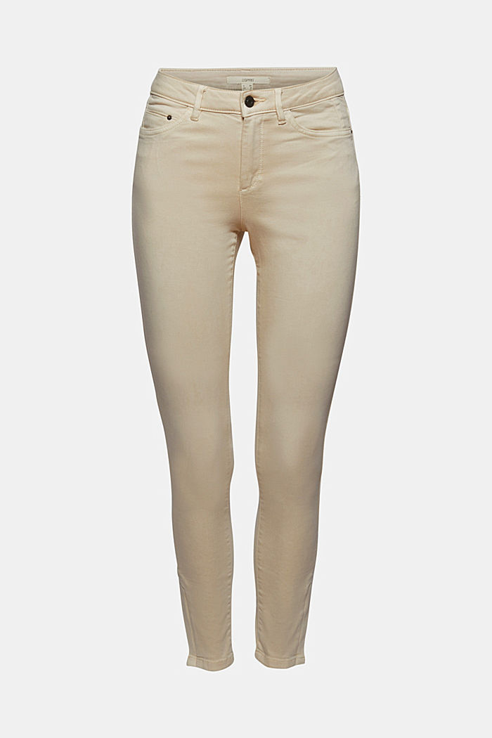 Ankle-length trousers with hem zips, ICE, overview
