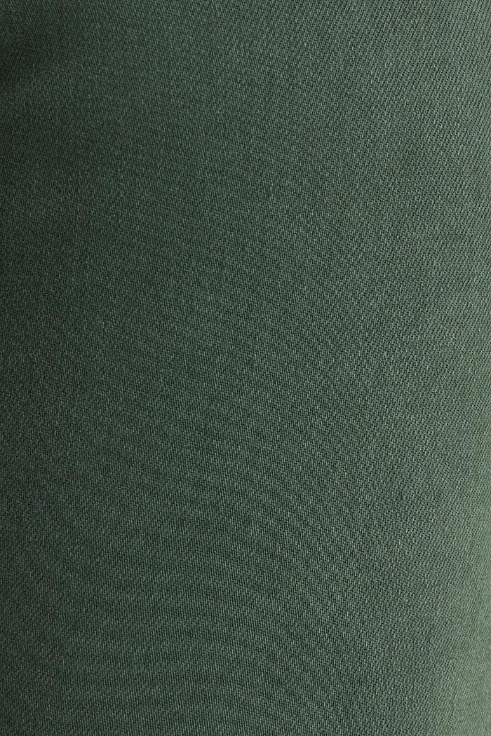 Pantalón tobillero con cremalleras en los bajos, KHAKI GREEN, detail image number 4
