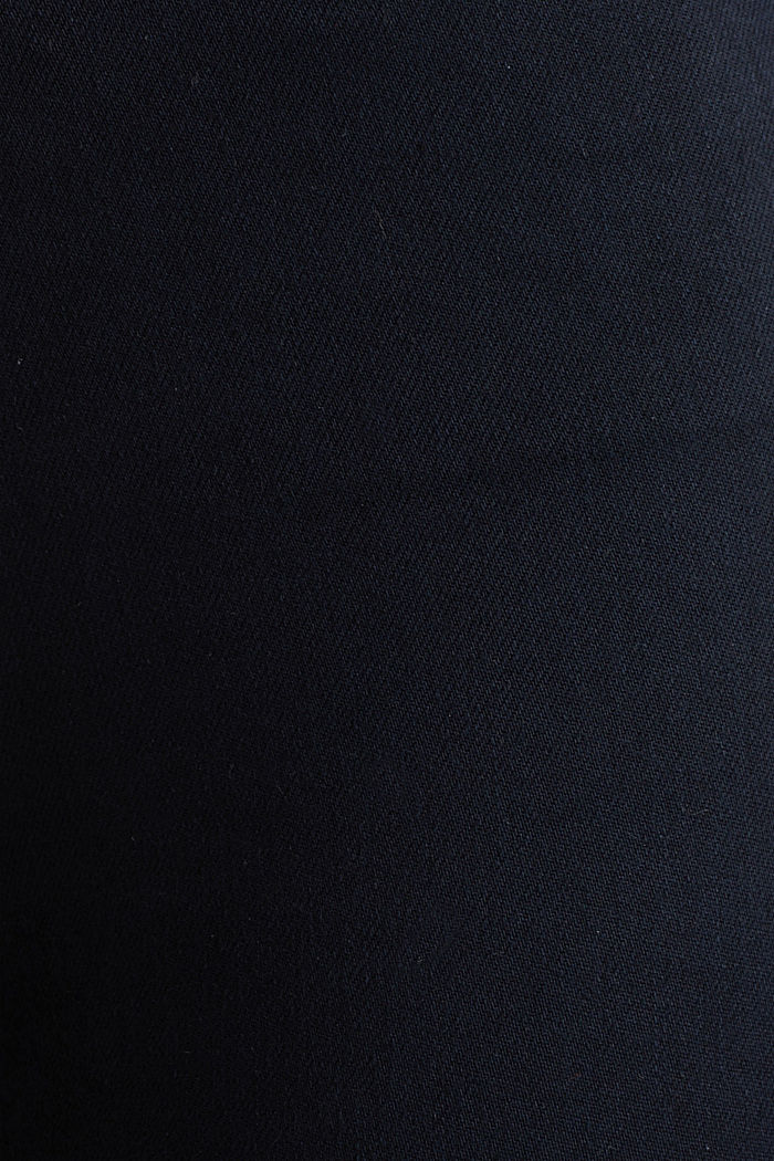 Ankle-length trousers with hem zips, NAVY, detail image number 4