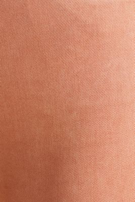 Ankle-length trousers with hem zips, RUST ORANGE, detail