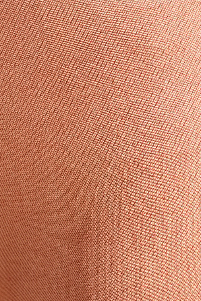 Ankle-length trousers with hem zips, RUST ORANGE, detail image number 4