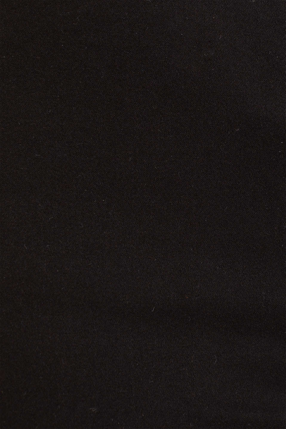 Soft Capri trousers with Lycra® xtra life™, BLACK, detail image number 4