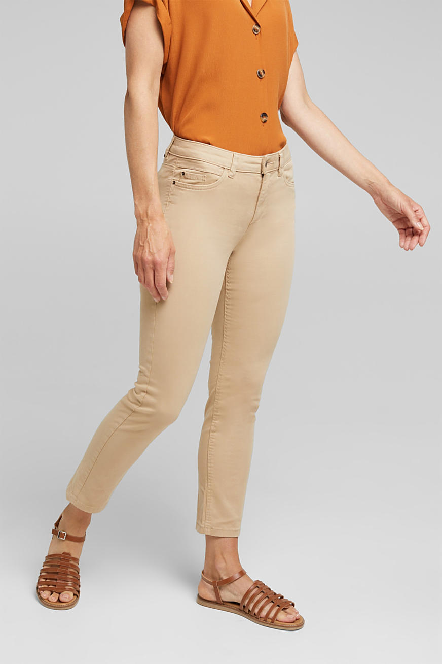 Soft Capri trousers with Lycra® xtra life™