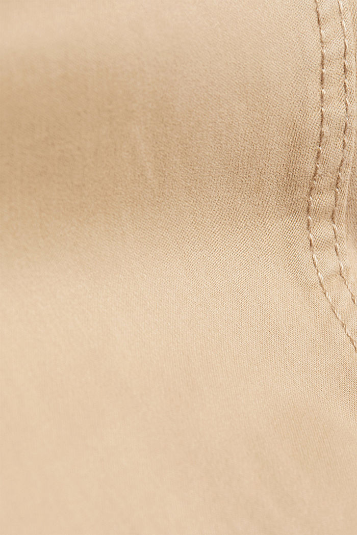 Soft Capri trousers with Lycra® xtra life™, BEIGE, detail image number 4