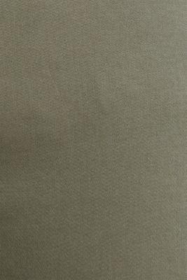 Soft Capri trousers with Lycra® xtra life™, KHAKI GREEN, detail