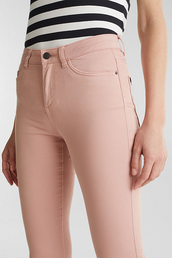 Soft Capri trousers with Lycra® xtra life™, OLD PINK, detail image number 2