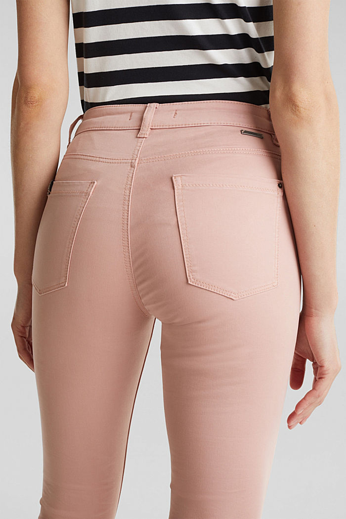Soft Capri trousers with Lycra® xtra life™, OLD PINK, detail image number 5