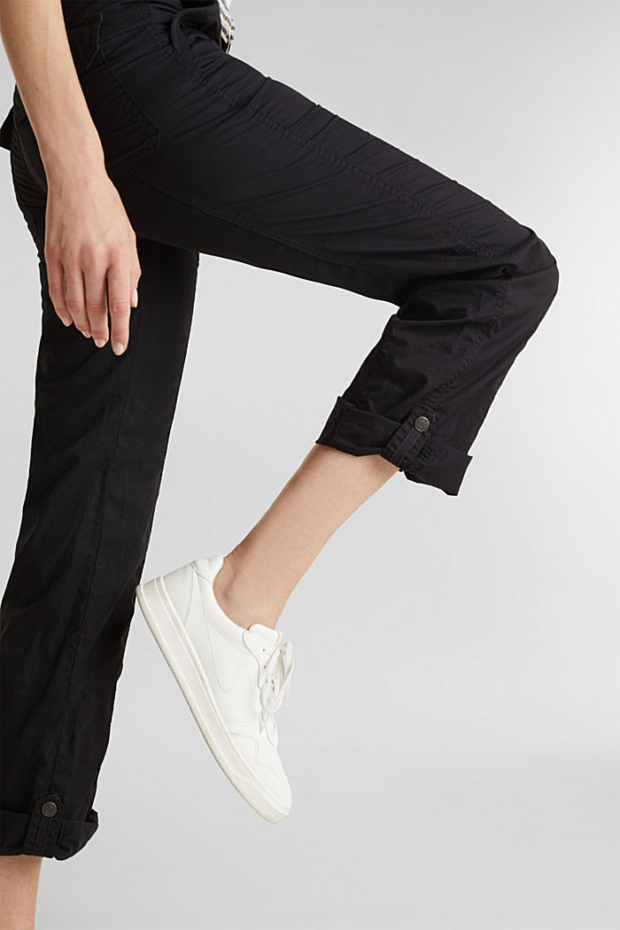 PLAY trousers with a belt, BLACK, detail image number 2