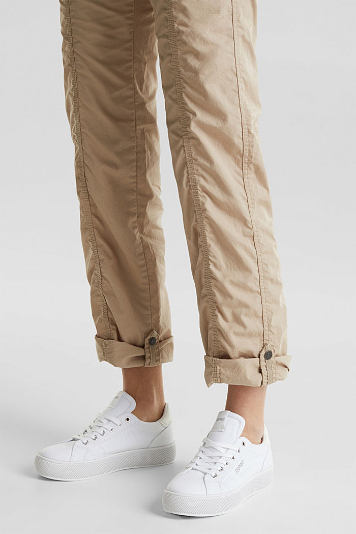 PLAY trousers with a belt, BEIGE, detail image number 5
