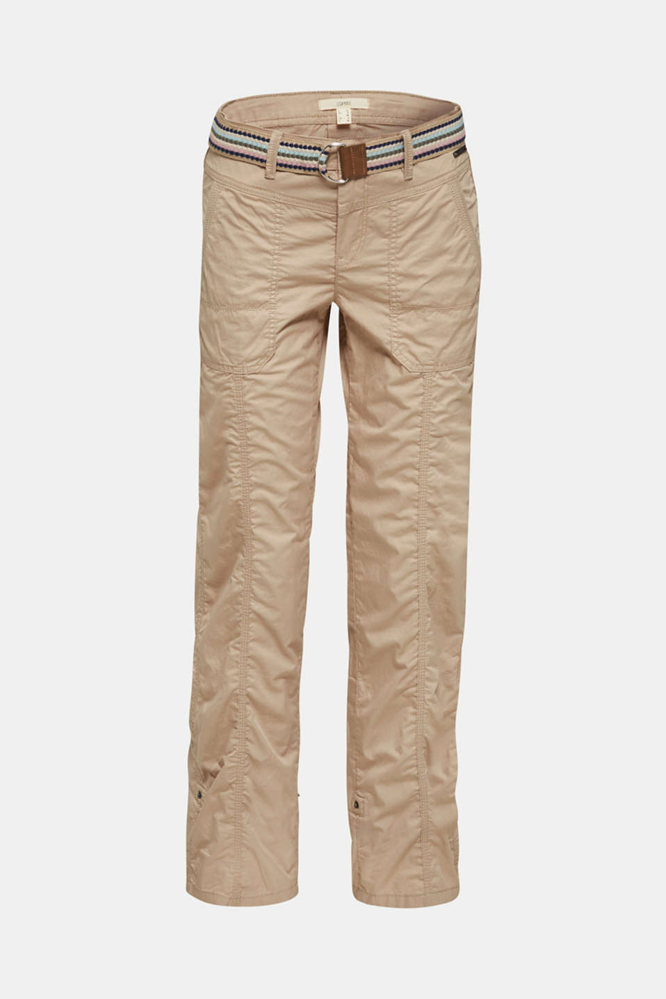 PLAY trousers with a belt, BEIGE, detail image number 8