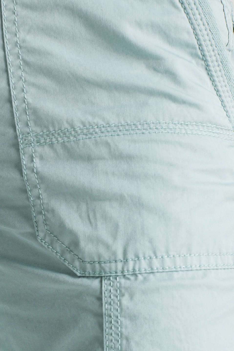 PLAY trousers with a belt, LIGHT AQUA GREEN, detail image number 4
