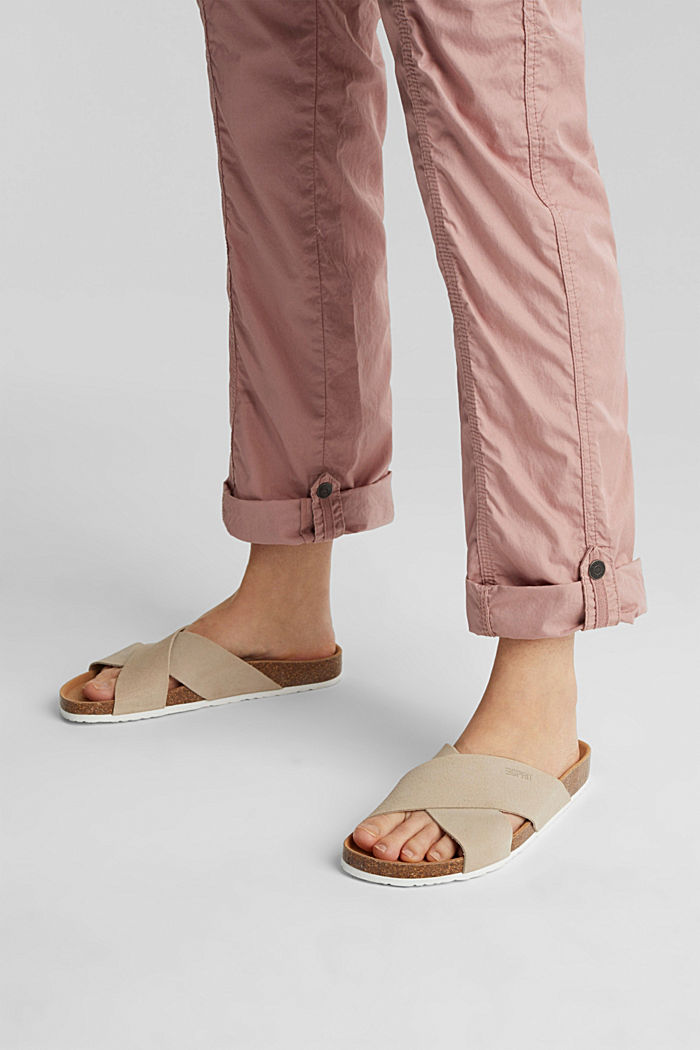 PLAY trousers with a belt, OLD PINK, detail image number 5