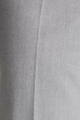 Melange trousers in a tracksuit bottom style, MEDIUM GREY 2, detail