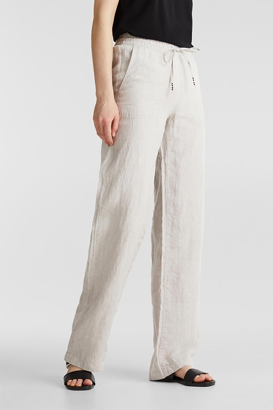 Pantalones De Moda De Mujer En La Tienda En Linea Esprit