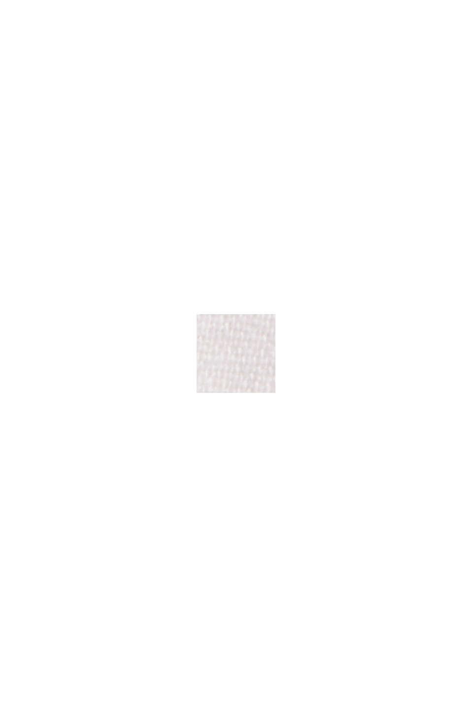 En lin mélangé: le chino à patte de boutonnage, OFF WHITE, swatch