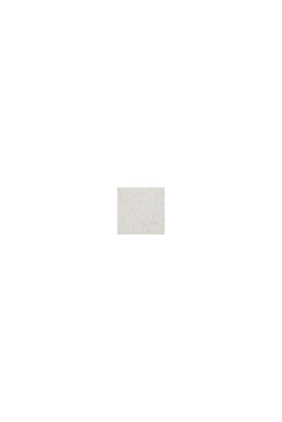 En lin mélangé: le chino à patte de boutonnage, SAND, swatch