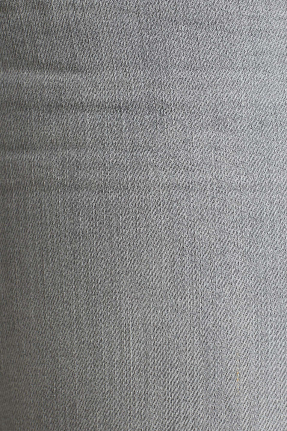 Capri jeans with whiskering, GREY LIGHT WASH, detail image number 4