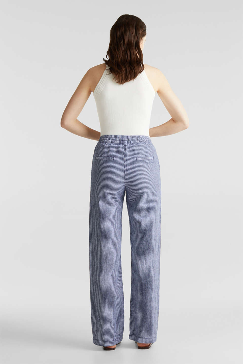 Trousers, DARK BLUE 3, detail image number 3
