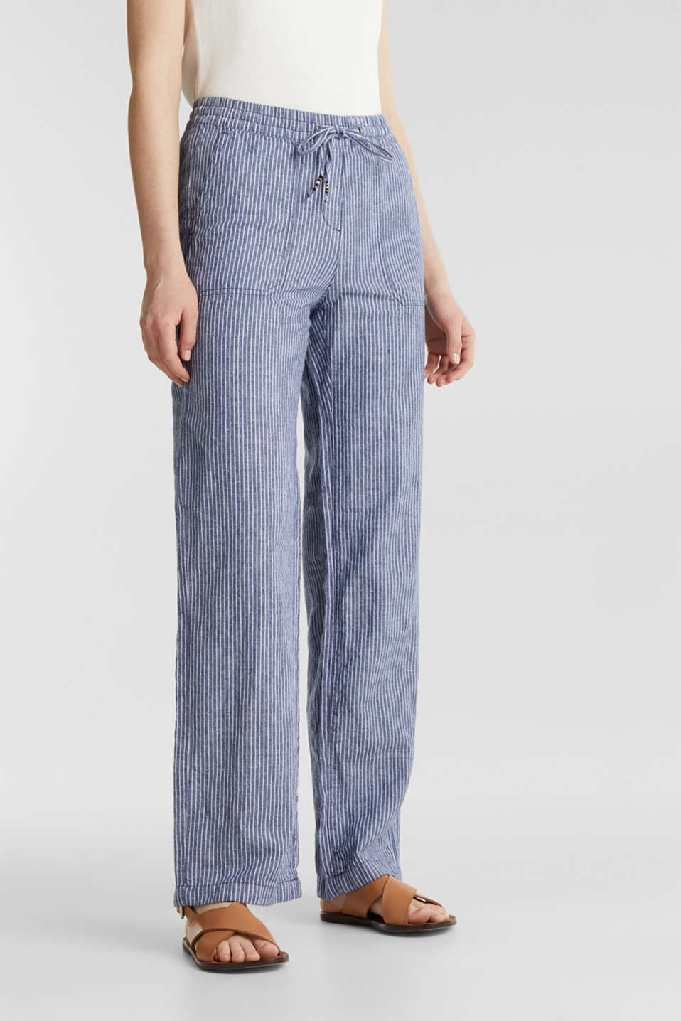 Trousers, DARK BLUE 3, detail image number 6
