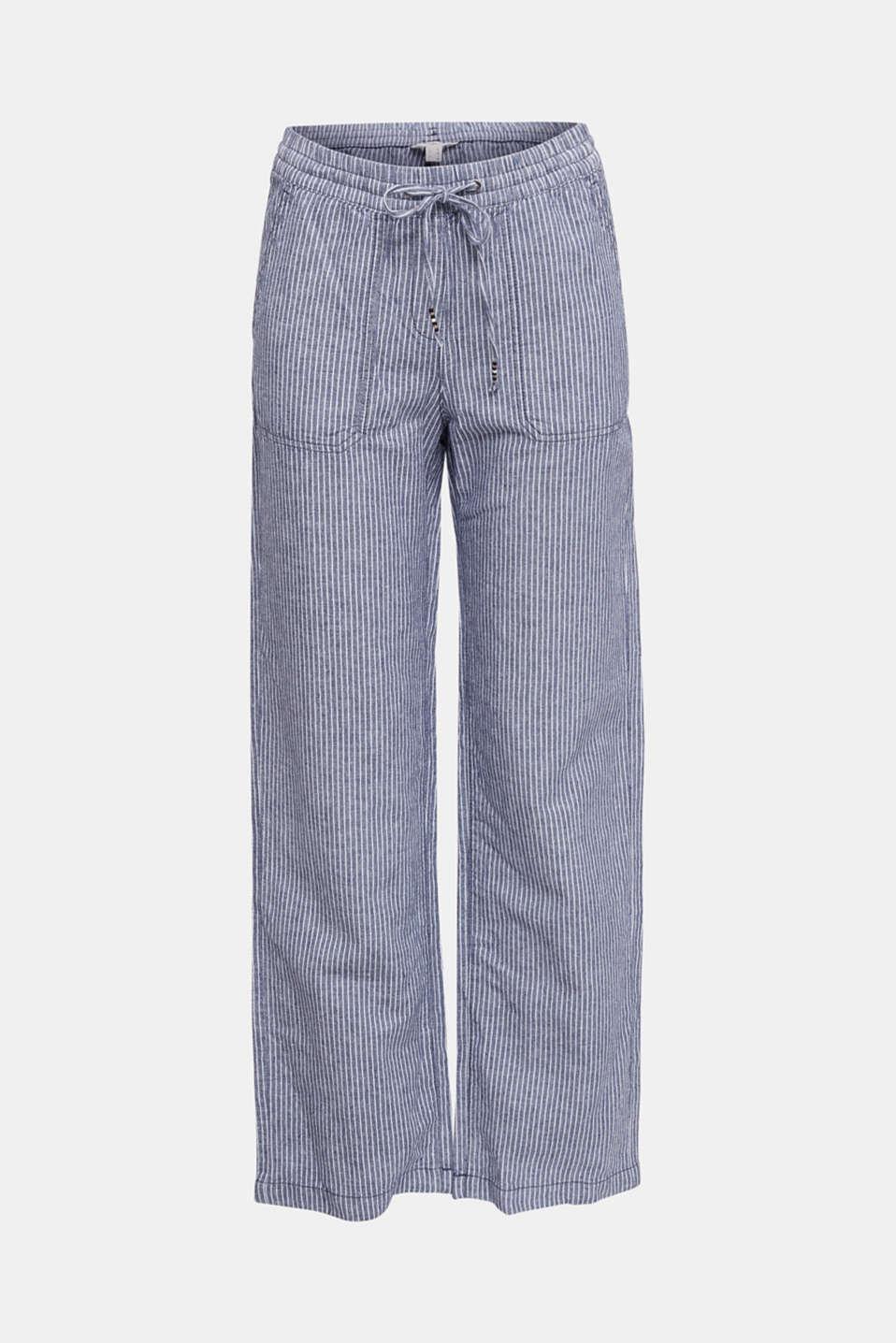 Trousers, DARK BLUE 3, detail image number 7