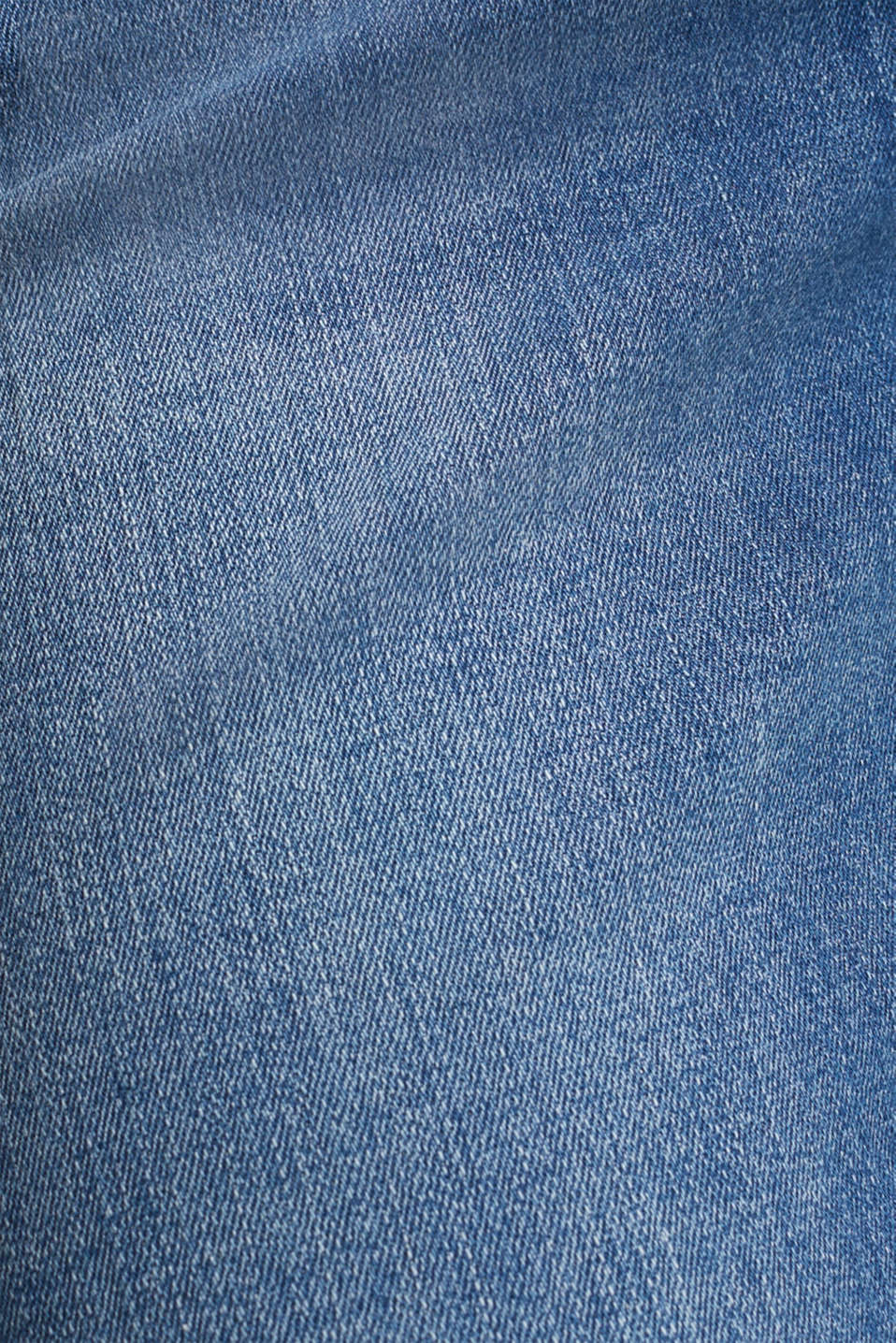 Super stretch shorts with two buttons, BLUE MEDIUM WASH, detail image number 4