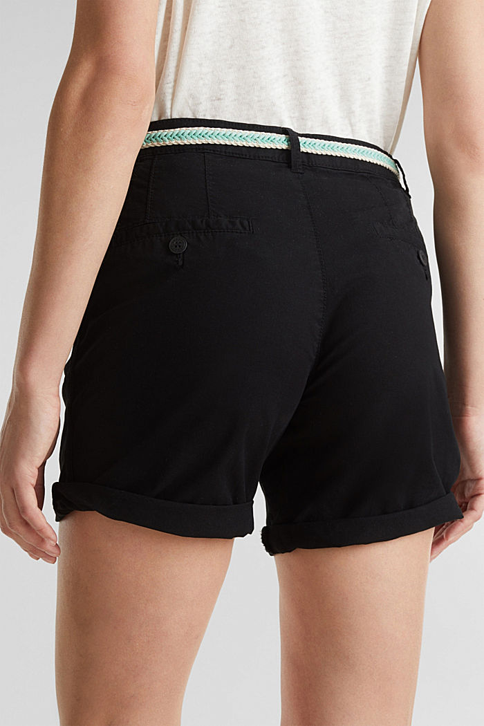 Stretch shorts with Lycra xtra life™, BLACK, detail image number 5