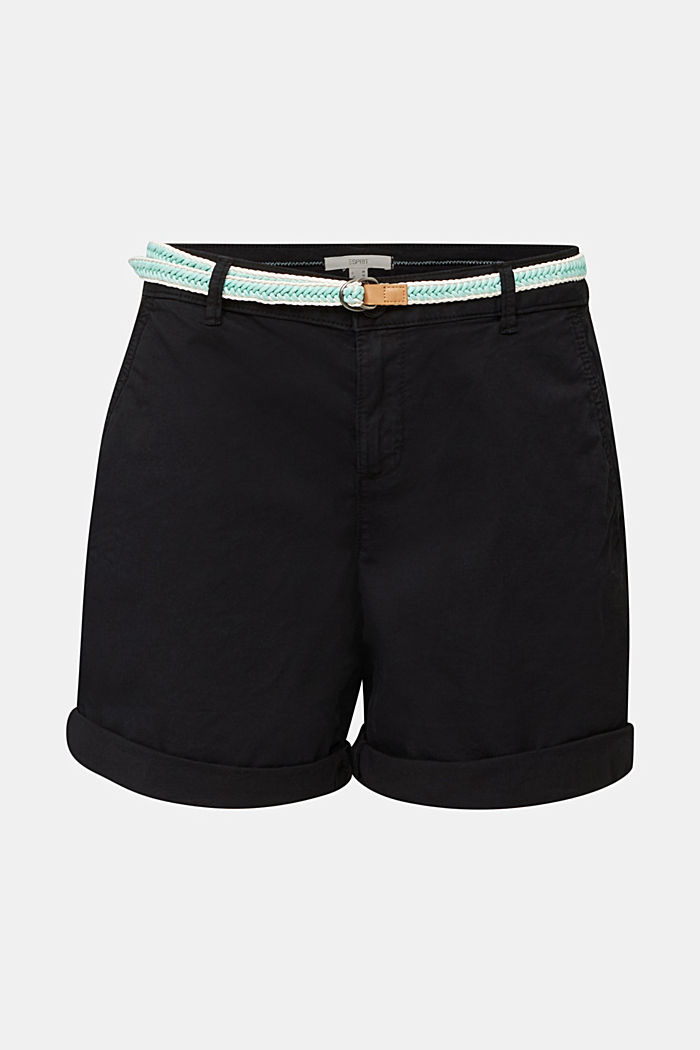Stretch shorts with Lycra xtra life™, BLACK, detail image number 7