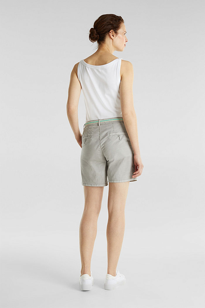 Stretch shorts with Lycra xtra life™, LIGHT GREY, detail image number 3