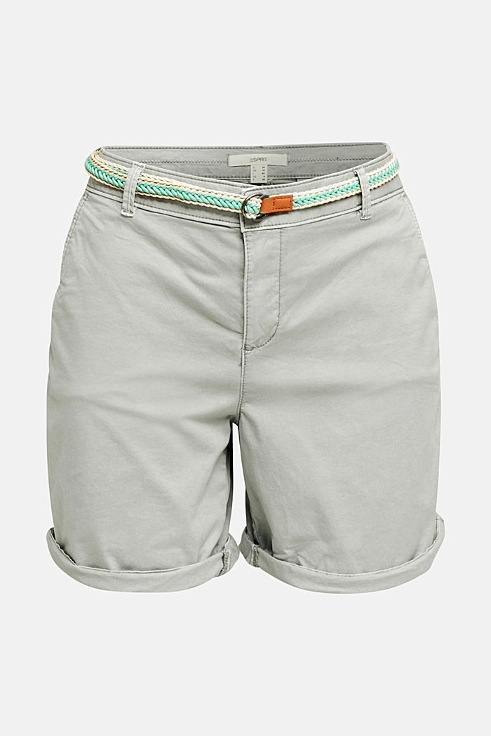 Stretch shorts with Lycra xtra life™, LIGHT GREY, detail image number 6