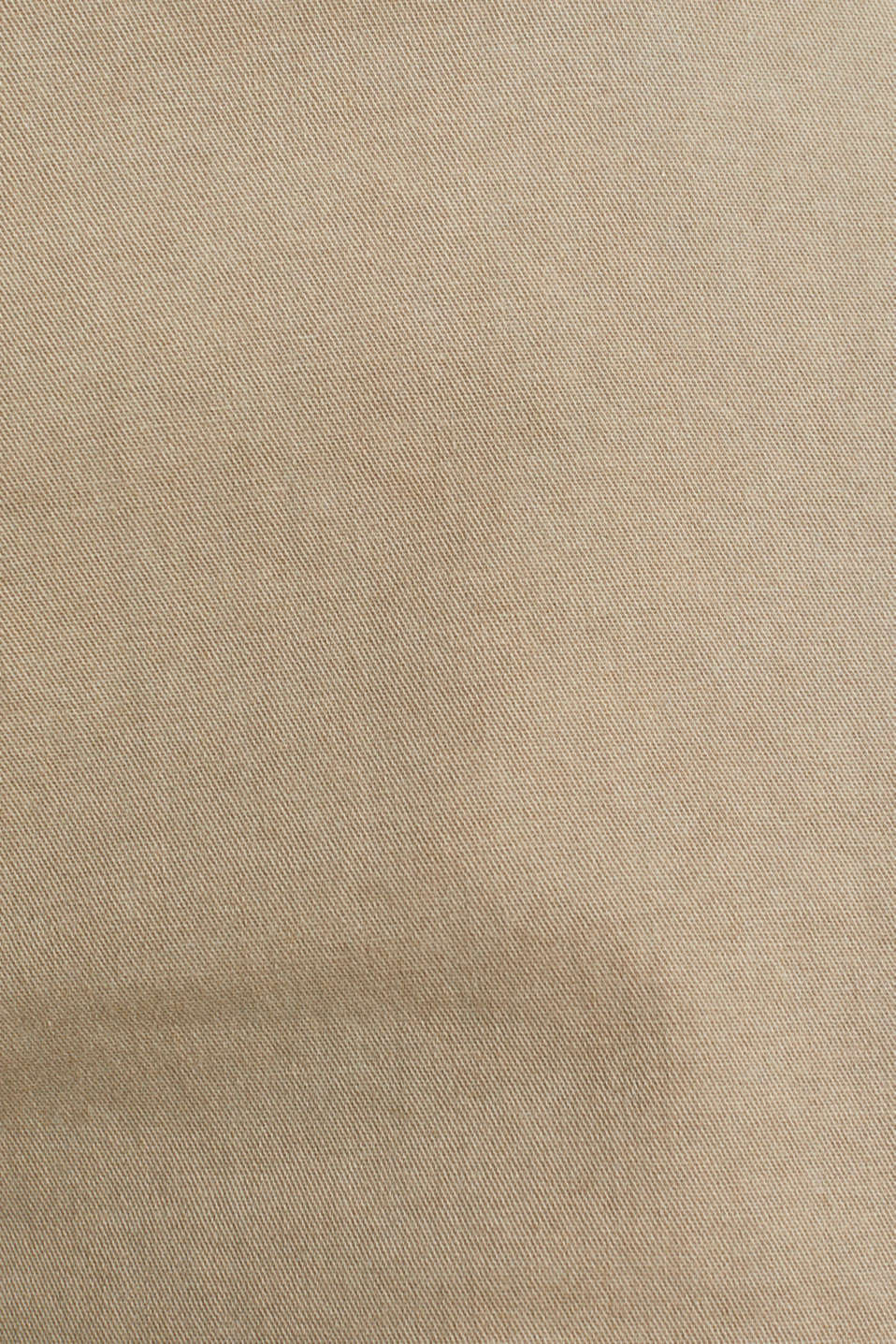 Stretch cotton shorts with Lycra xtra life™, BEIGE, detail image number 4