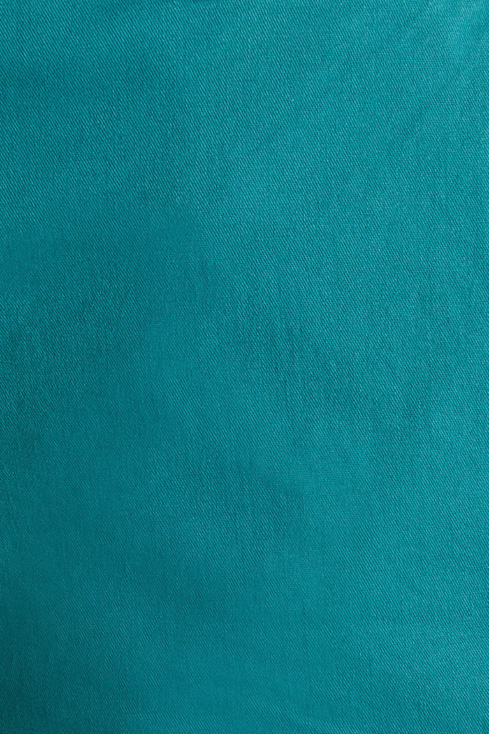 Stretch shorts with Lycra xtra life™, TEAL GREEN, detail image number 4