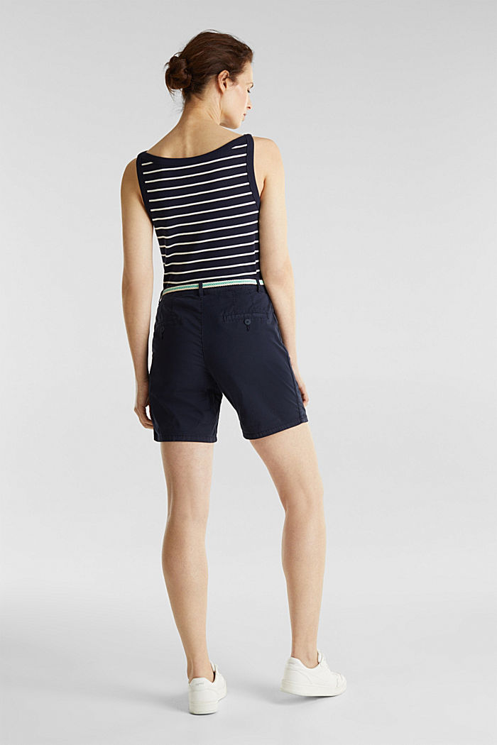 Stretch shorts with Lycra xtra life™, NAVY, detail image number 3
