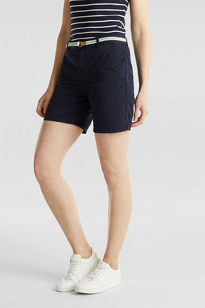 Stretch shorts with Lycra xtra life™, NAVY, detail image number 5