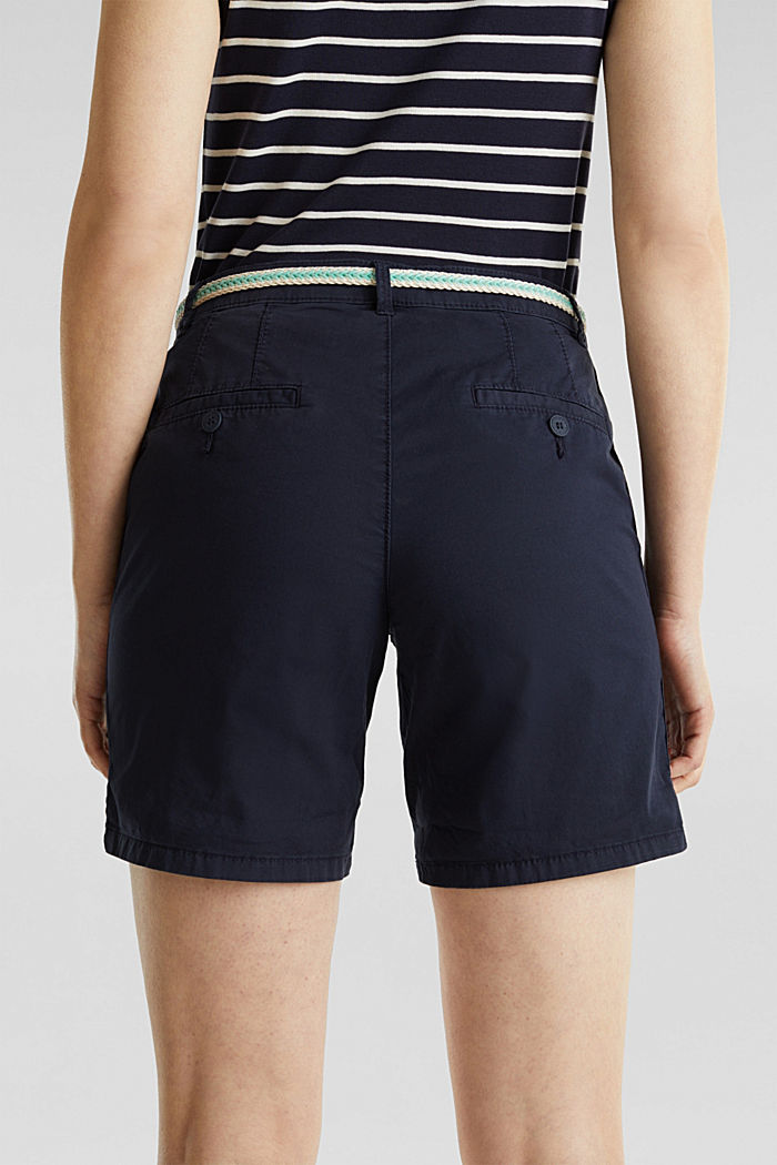 Stretch shorts with Lycra xtra life™, NAVY, detail image number 2
