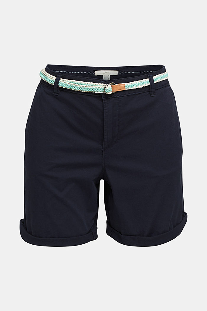 Stretch shorts with Lycra xtra life™, NAVY, detail image number 6