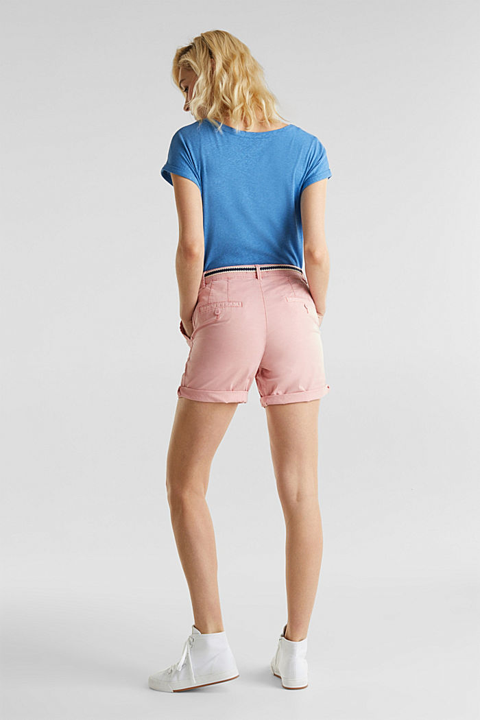 Stretch shorts with Lycra xtra life™, DARK OLD PINK, detail image number 3