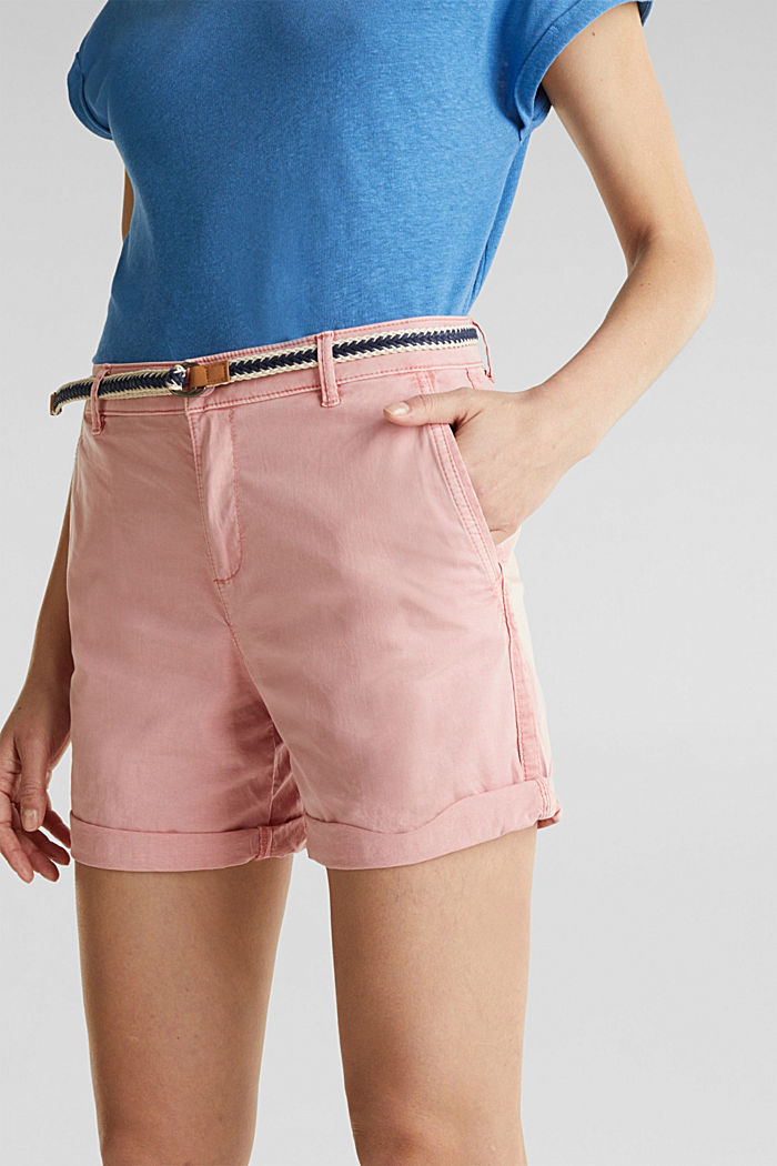 Stretch shorts with Lycra xtra life™, DARK OLD PINK, detail image number 2