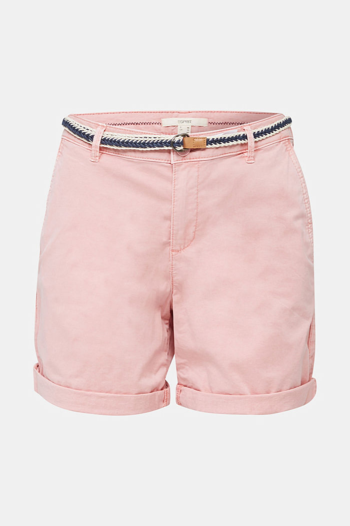 Stretch shorts with Lycra xtra life™, DARK OLD PINK, detail image number 7