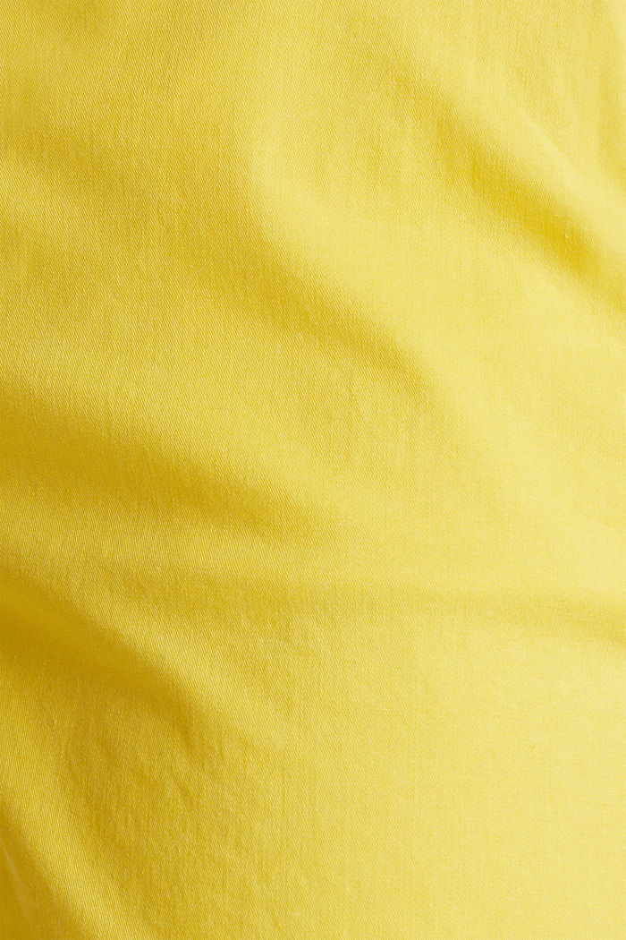 Stretch shorts with Lycra xtra life™, BRIGHT YELLOW, detail image number 4