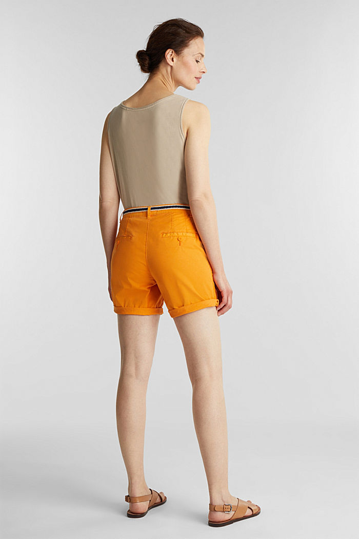 Stretch shorts with Lycra xtra life™, ORANGE, detail image number 2